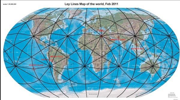 Les Chakras de la Terre et les Lignes Énergétiques 4
