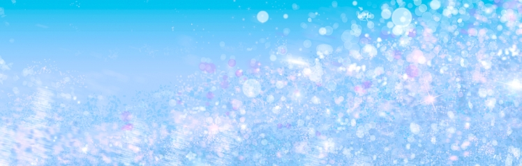 Abstract snow glitter lights sea green background