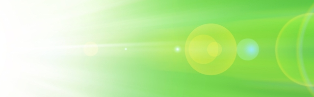 soft green gradient and flare light  background