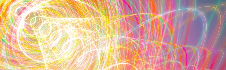 Abstract Background Wavy Colorful Helix
